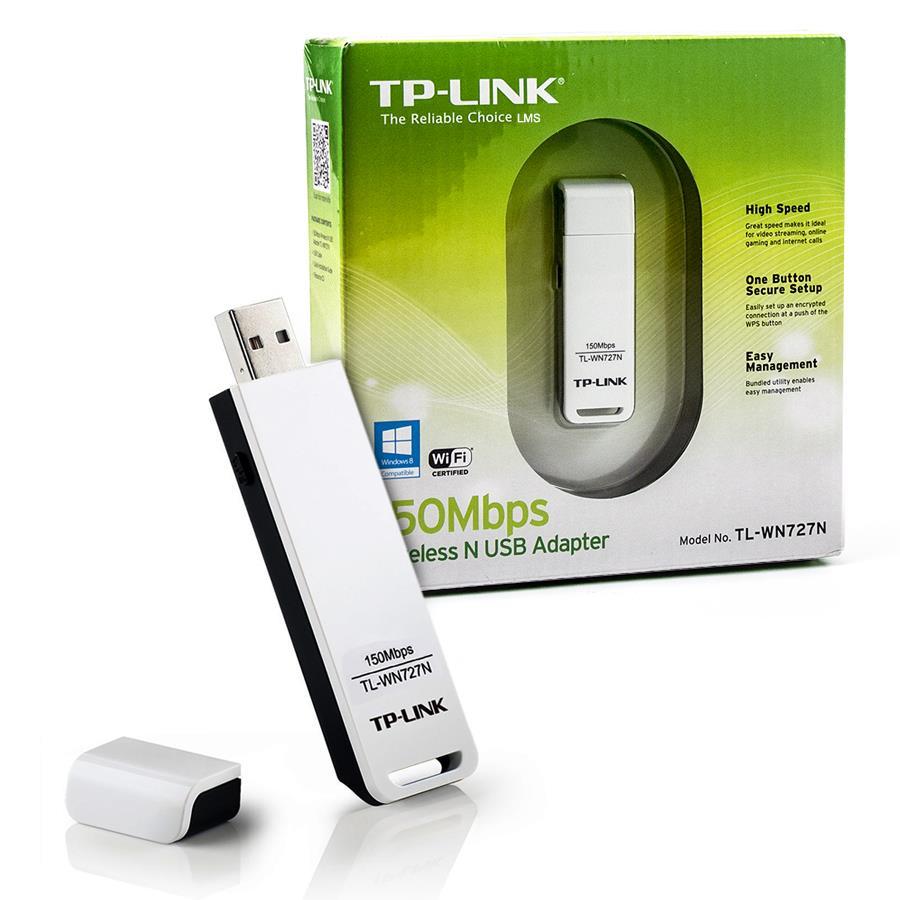 USB thu sóng wifi TP-Link TL-WN727N, thiết bị thu sóng wifi cho PC, laptop giá rẻ