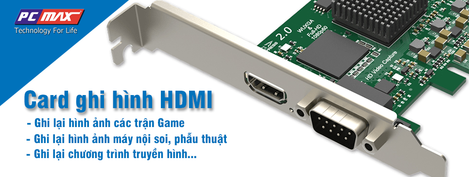 Card ghi hình HD