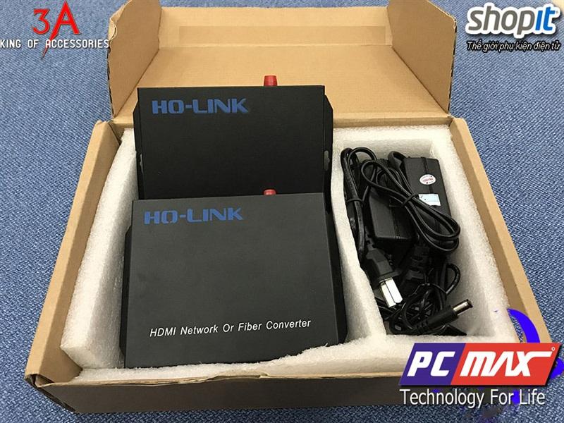 Bộ chuyển đổi HDMI sang quang cao cấp chính hãng HoLink Hl-HDMI-20T/R