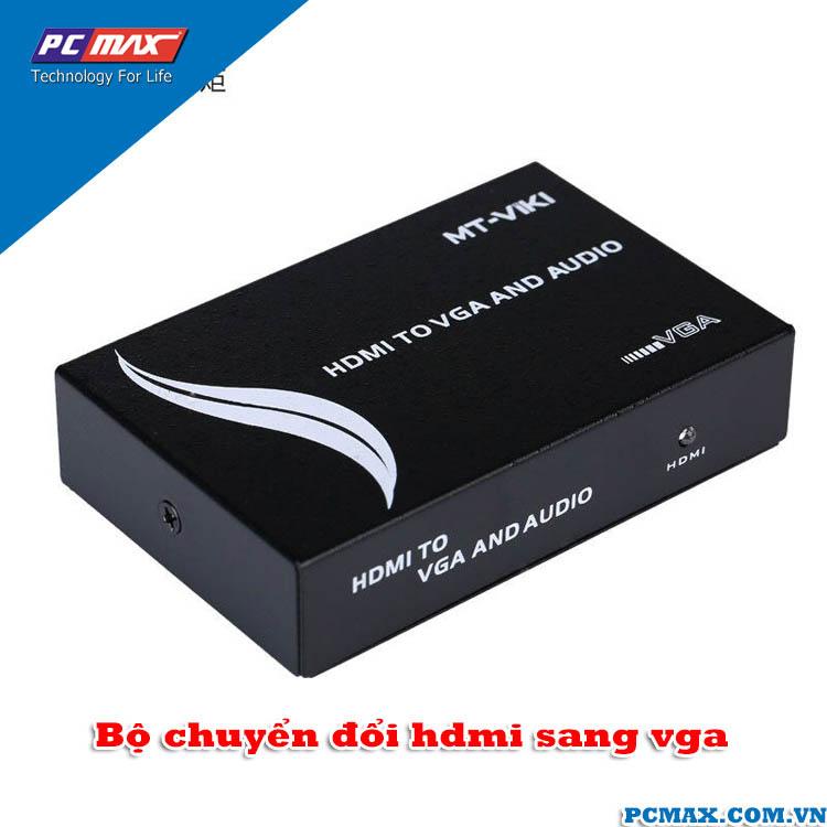 Bộ chuyển đổi HDMI to VGA MT-Viki