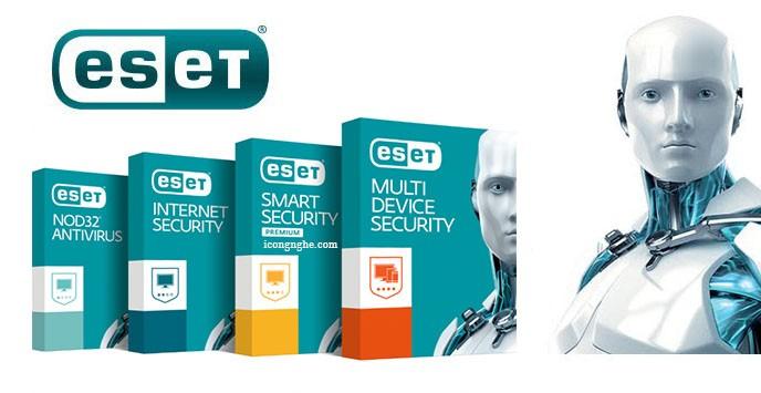Chương trình Antivirus NOD32 bản quyền của công ty ESET