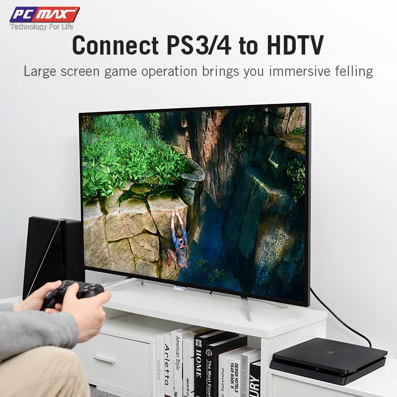 Cáp HDMI 2.0 4k chống nhiễu mạ vàng PCMAX dài 1,5m PCM-2001- Hàng Chính Hãng