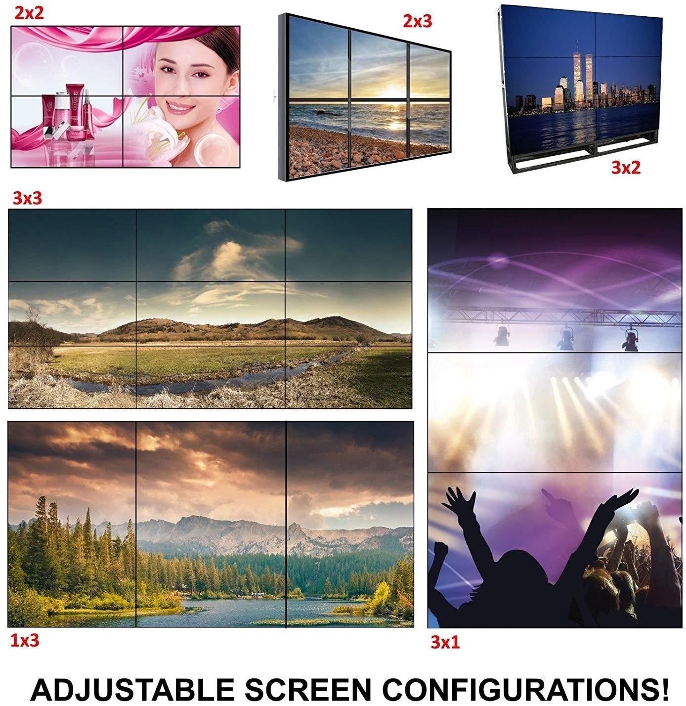 Bộ ghép màn 10 màn hình 3A-A10L chất lượng cao